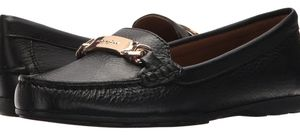 """Classic Coach Leather """"Olive"""" Driving loafers"""